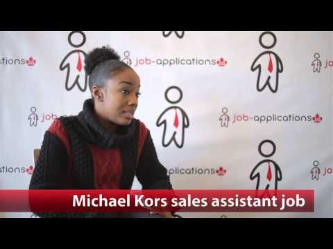 Michael Kors Sales Assistant Job
