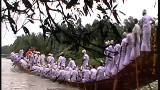Chenithala puthen palliyodam going for Aranmula valamkali