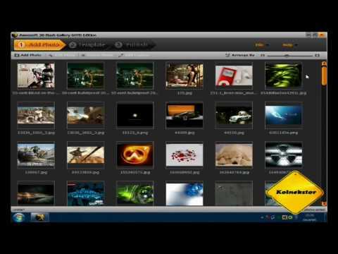 3D Flash Gallery czyli galeria 3d na własną strone