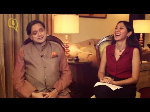The Quint: Shashi Tharoor on Hinglish and How He Thinks He Coined 'Preponed'