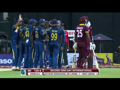 Highlights: 2nd ODI at R Premadasa – Windies in Sri Lanka 2015
