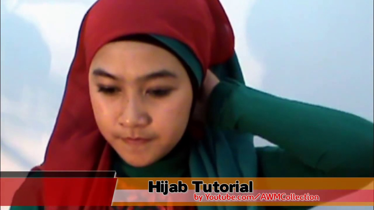 Tutorial Hijab Paris Kombinasi Tile