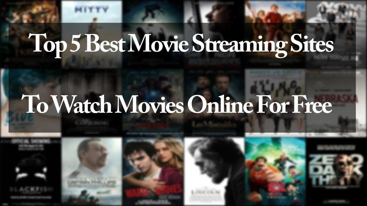 Top 5 Best Sites To Watch Movies Online For Free - Youtube-9966