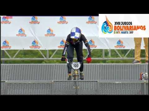 mariana pajon medalla de oro en los juegos bolivarianos