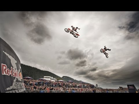 Giving back through FMX - Red Bull X-Fighters Jams 2013 Talcahuano