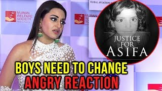 Sonakshi Sinha ANGRY REACTION On Asifa Shocking Incident
