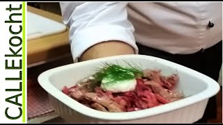 Rezept für Boeuf Stroganoff - Filetspitzen vom Rind zubereiten
