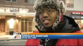 Chocolate Shortage will Affect Dayton Area Consu