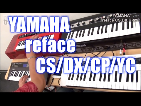 yamaha reface cp cs dx yc demo play youtube. Black Bedroom Furniture Sets. Home Design Ideas