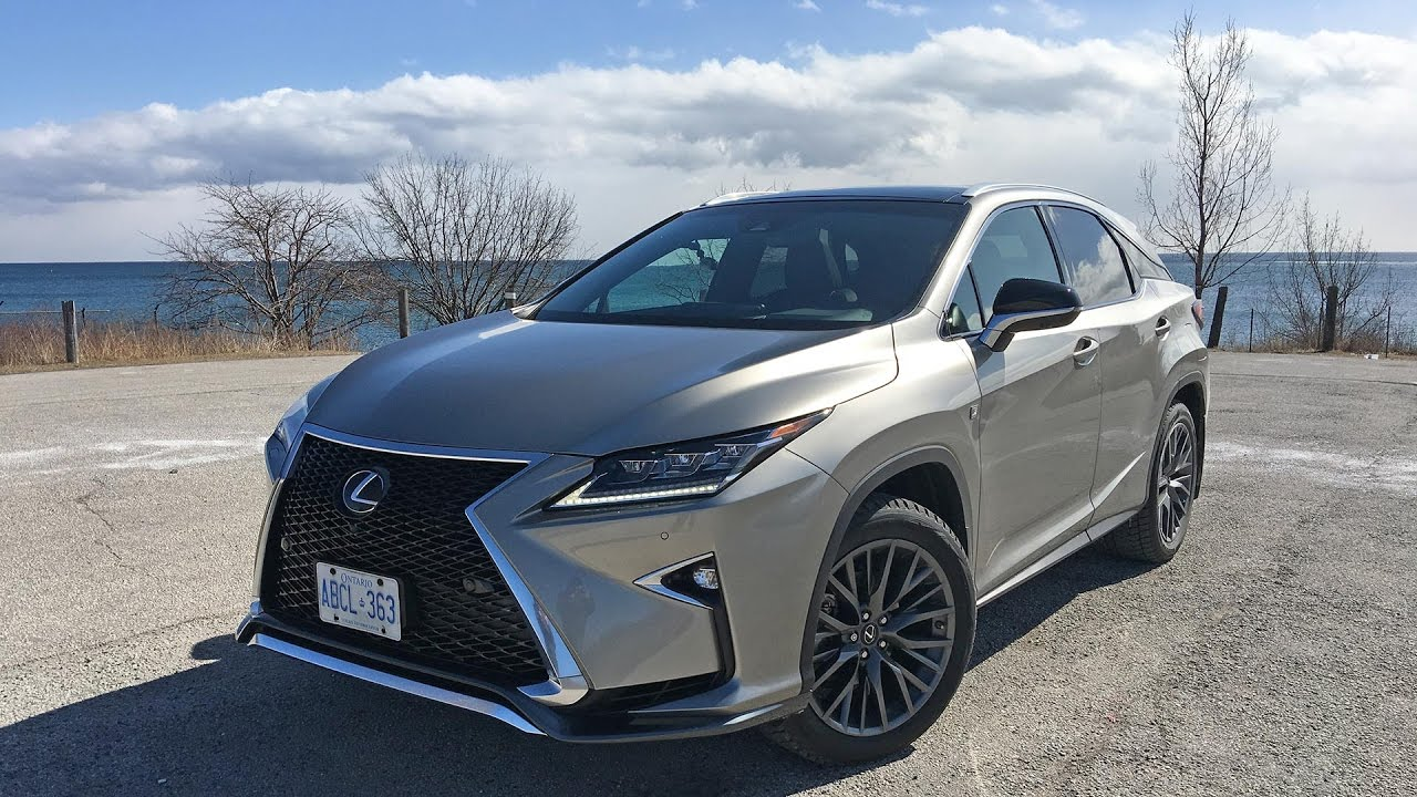 Marvelous 2017 Lexus RX 350 F Sport   Review