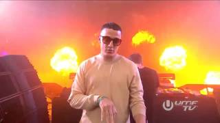 Mad World & Bomb A drop & Propaganda  Hardwell Mashup Ultra Miami (2016)