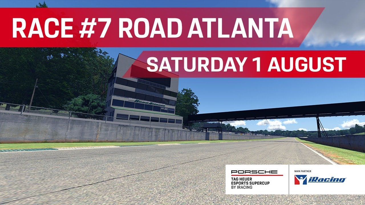 Porsche TAG Heuer Esports Supercup – Race Week #7 Road Atlanta