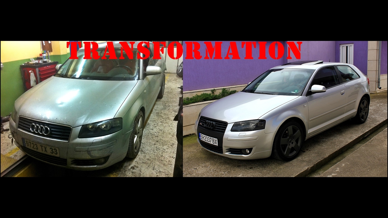 Audi A3 8p Transformation Youtube