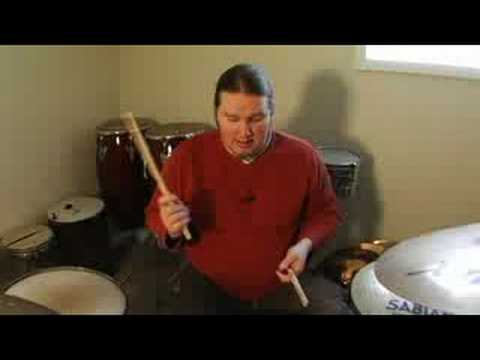 Drumstick Techniques : Playing Snare Drum With Side Stick Drumming