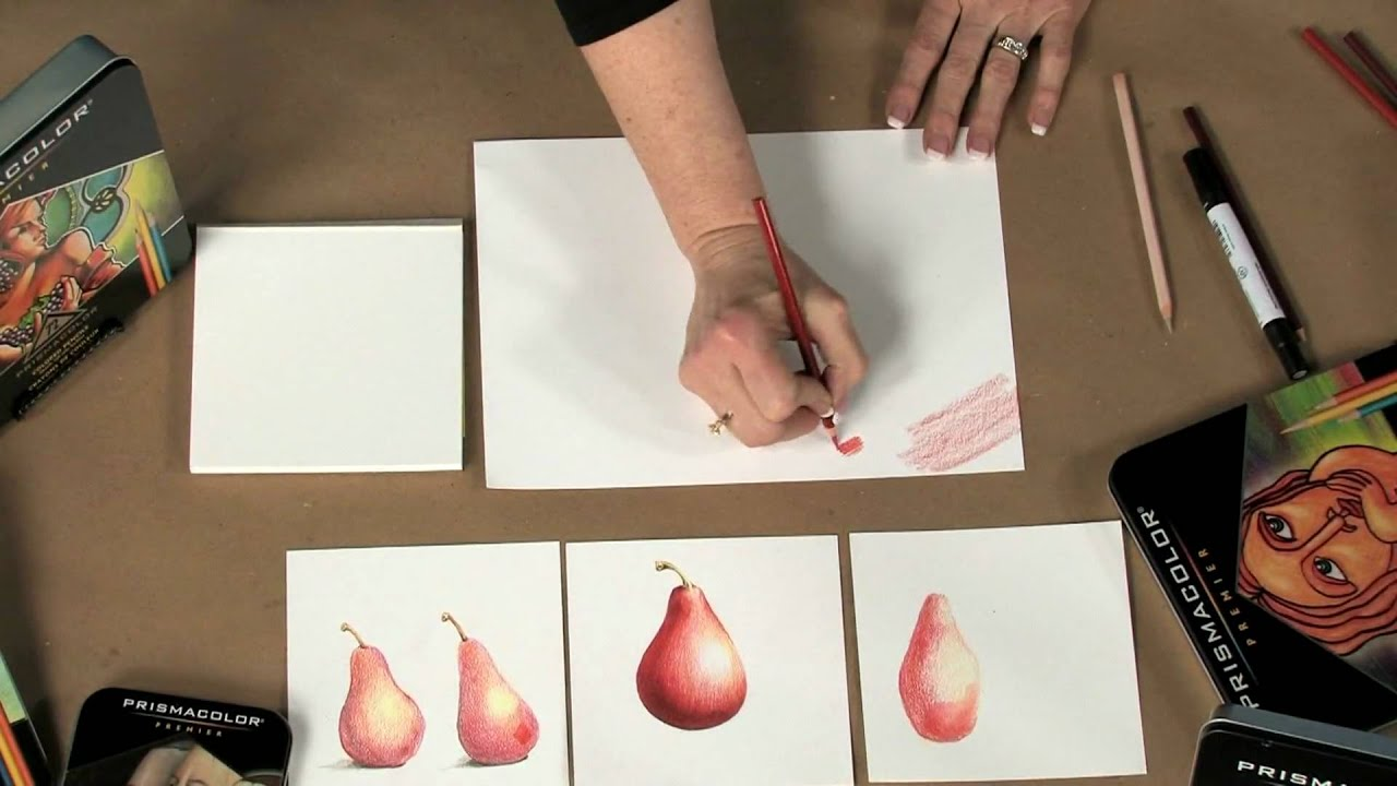 prismacolor colored pencils tips techniques youtube