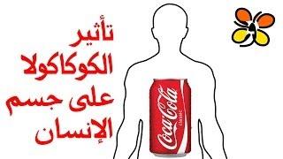 تأثير الكوكاكولا على جسم الإنسان How Coca Cola affects your body