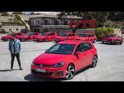(2018) VW Golf 7 VII GTI, GTI Performance Facelift und TCR - Fahrbericht | Review | Test | Sound