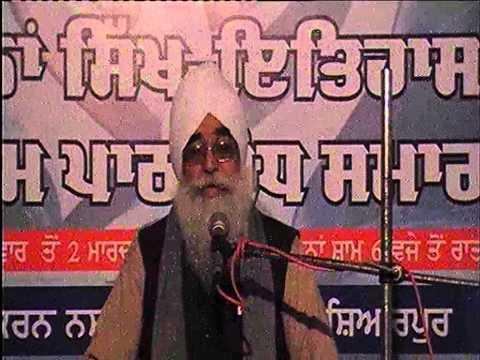 Giani Sahib Singh Ji Shahbad Markanda JAAP Sahib path-bodh part-1 live on 24-02-2013.flv
