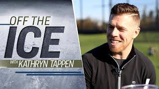San Jose Sharks' Joe Pavelski shows off his golf skills   'Off the Ice' with KT   NHL on NBC