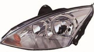 Замена лампы ближнего света / Ford Focus 1