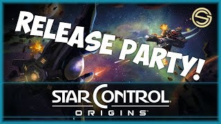 Release Party! | BRAND NEW GAME | Star Control: Origins | Let's Play | 1