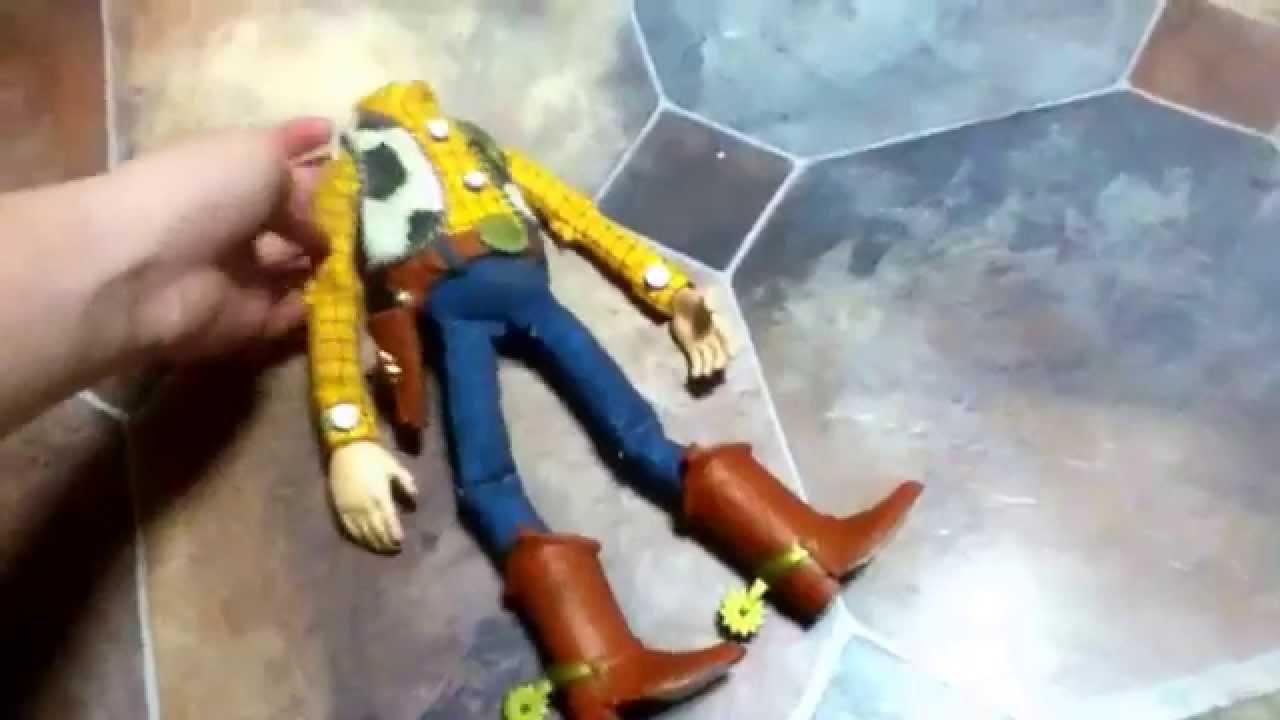 creepy woody doll youtube