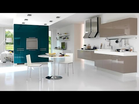 Modern Kitchen Trends 2019 - Kitchen Interior - kitchen cabinets, tiles, sink & decor ideas