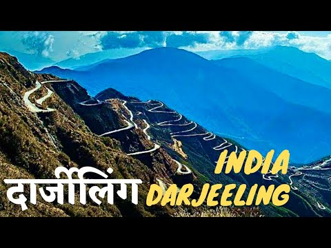 India Darjeeling Himalayas - Misty Mountain, Heritage Railway, Kangchenjunga Peak *HD*
