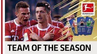 The ea sports fut 18 bundesliga team of the season is…