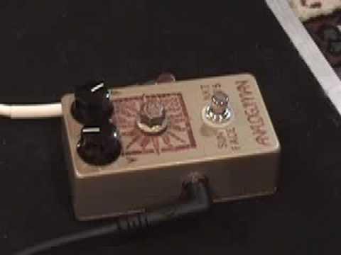 ANALOGMAN Sunface NKT 275 fuzzface pedal demo Telecaster