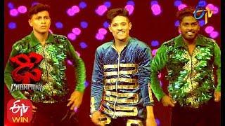 Raju Performance   Dhee Champions   25th December 2019    ETV Telugu