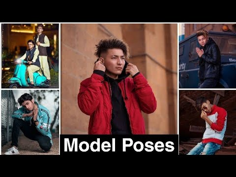 Best Professional Model Poses For Boys 2019   Indian Male Model Poses For Photoshoot  2020 