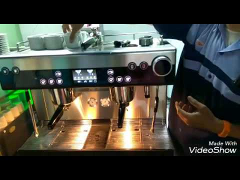 WMF coffee machine training