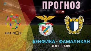 Бенфика Фамаликан прогноз на 8 февраля Чемпионат Португалии Прогнозы на футбол на сегодня