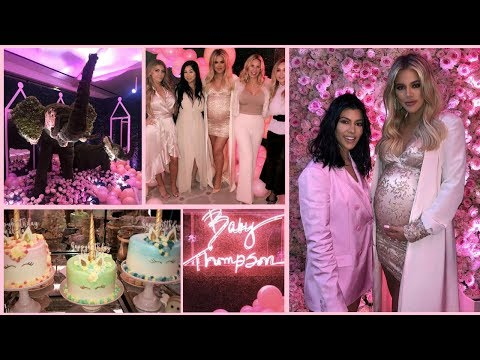 KHLOE KARDASHIAN CELEBRATES BABY SHOWER PARTY FULL