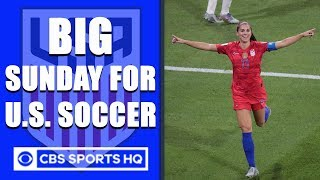 U.S. Men's & Women's Soccer SHOULD WIN Gold Cup and World Cup | CBS Sports HQ