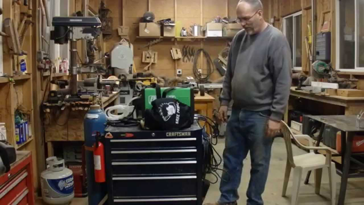 Setting Up A Welding Station In A Wood Shop Oh Boy Youtube