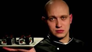 Прикольный ролик про суши