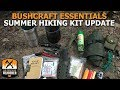 Bushcraft Essentials Summer Hiking Kit Update