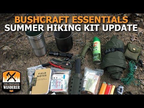Bushcraft Essentials Summer Hiking Kit Update