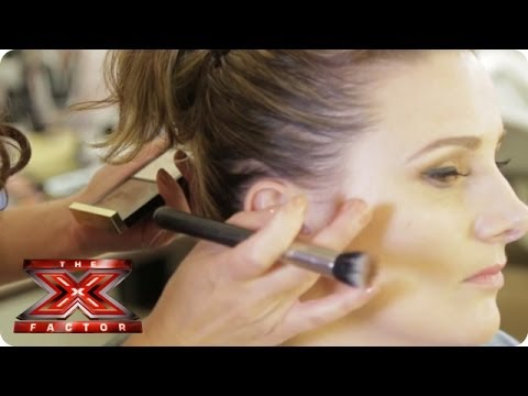 Get Sam Bailey's gorgeous high cheekbones - X Factor Make Up Room - The X Factor UK 2013