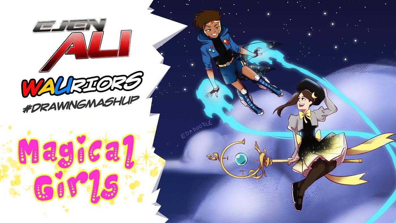 Download Ejen Ali WAUriors Drawing Mashup Episode 10   #ARTvidence #StayAtHome #DudukRumah