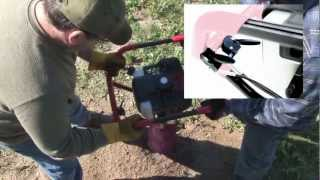 Dually - 1-or-2 Man Earth Auger Powerhead