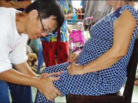 Miracle healing near Long Xuyên Market, An Giang Vietnam