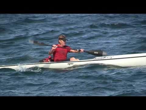 Leif Somners Surf Ski Sydney Harbour