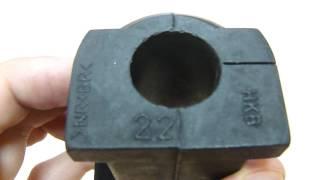 Оригинальные втулки переднего стабилизатора 4056A079 на Mitsubishi ASX