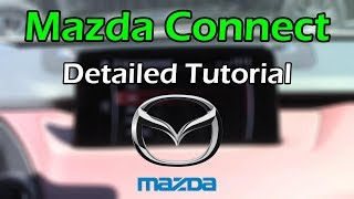 Mazda Connect 2018 Detailed Tutorial and Review: Tech Help