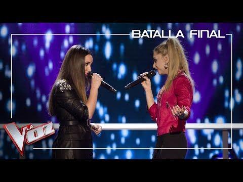 Marina Damer y Palomy cantan 'Peces de ciudad' | Batalla final | La Voz Antena 3 2019