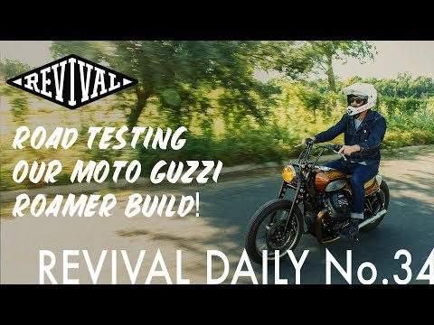 Test Riding Our Moto Guzzi V9 Roamer Build // Revival Daily No. 34