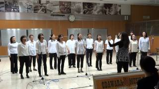 Ayako with JOY & PEACE Gospel Choir.